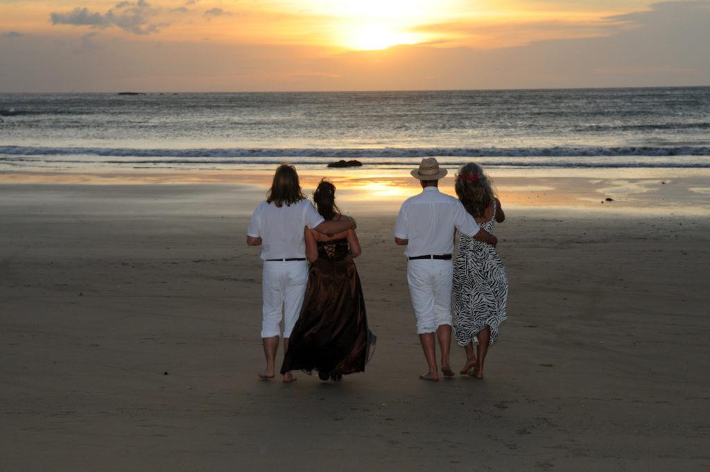 Costa Rica Sonnenuntergang
